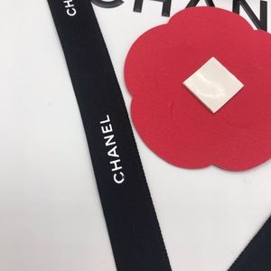 CHANEL Makeup - paper camelia stickers.